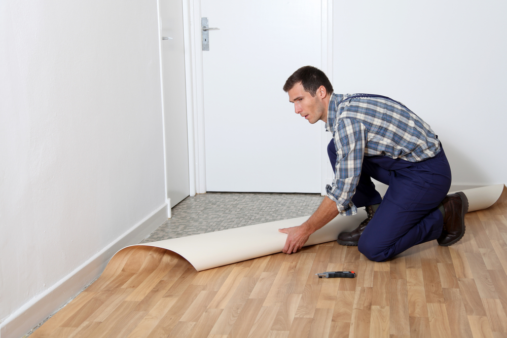 Installing Vinyl Yourself | Carpet Direct KC