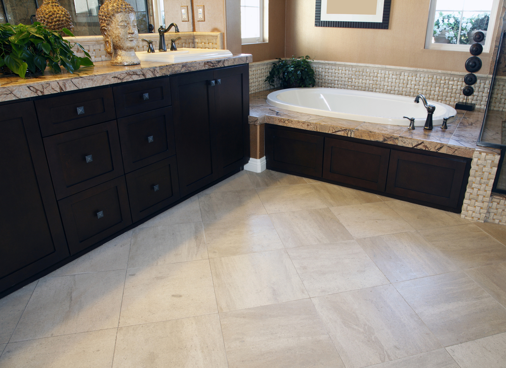Overland Park Bathroom Flooring