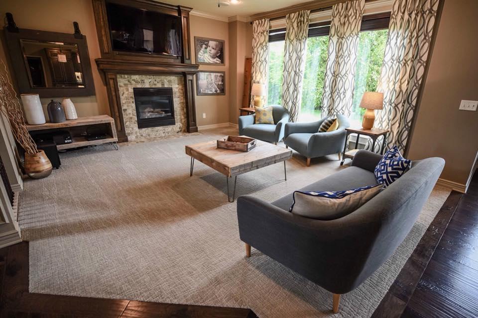 living-room-patterned-carpet-lisa-osborne | Windows Floors ...
