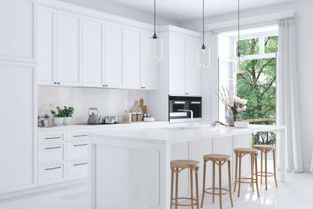 Kansas City Kitchen Design: White Tile