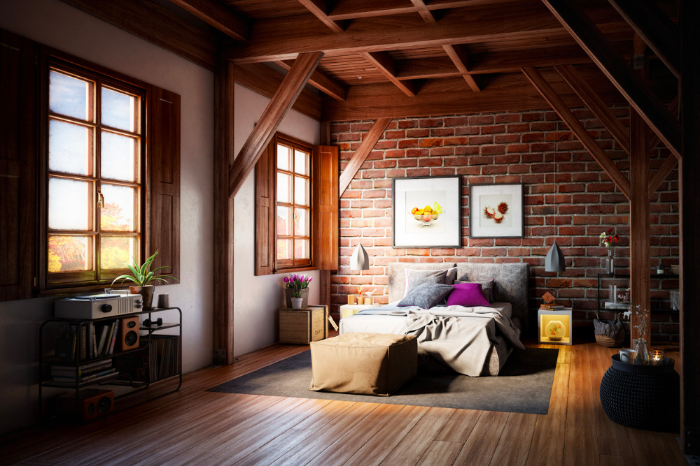 Bedroom-hardwood-floor